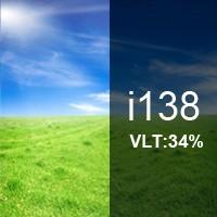 34% VLT Energy Saving Ceramic Film - i138. i138 Energy Saving Ceramic Film