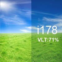 71% VLT Energy Saving Ceramic Film - i178. i178 Energy Saving Ceramic Film
