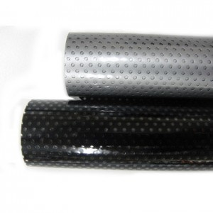 Color Perforated Static Film - .