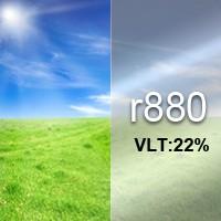 22% VLT Reflective Film - R880. R880 Reflective Film
