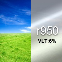 6% VLT Reflective Film - R950. R950 Reflective Film