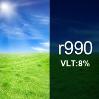 8% VLT Reflective Film - R990. R990 Reflective Film